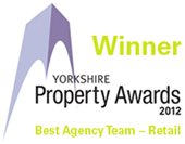Yorkshire Property Awards 2012 Winner